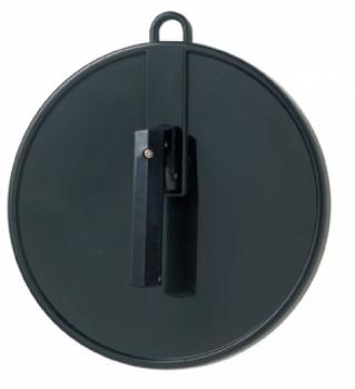 Зеркало ручное Comair с проушиной для подвешивания, d 25 см, черное | Venko