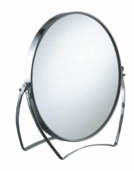 Зеркало косметическое Comair , двухстороннее, d 17 см, 2-кратное увеличение | Venko