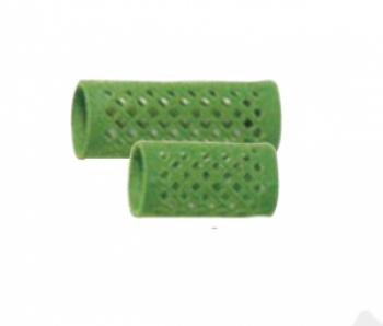 Бигуди металлические короткие, зеленые, d 24 mm, (уп/ 12 шт) | Venko