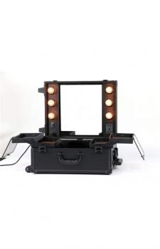 Настольная make-up студия с освещением PS-IST01L (черная) | Venko