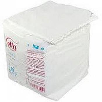 Салфетки 20 х 20 (100 шт), спанлейс, гладкие,  сложенные | Venko