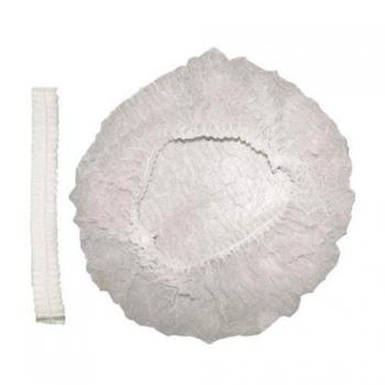 Шапочкигармошка спанбонд белые,100 шт | Venko