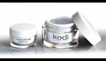 Прозрачный конструирующий гель Kodi UV Builder Gel Clear ice 28мл | Venko