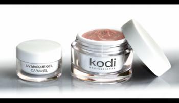 Гель матирующий карамель Kodi UV Masque Gel Caramel 14мл