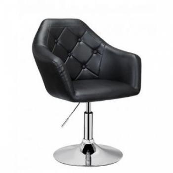 Парикмахерское кресло HC547 черное | Venko