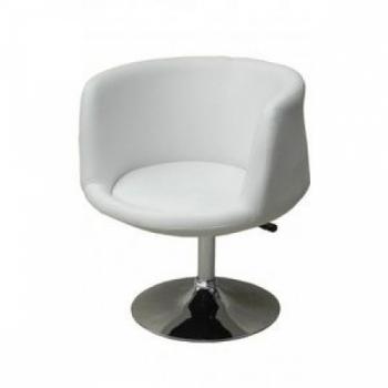 Парикмахерское кресло HC-8637 белое | Venko