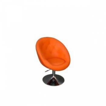 Парикмахерское кресло HC-8516 оранжевое | Venko