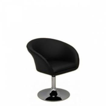 Кресло косметическое HC-8326 черное | Venko