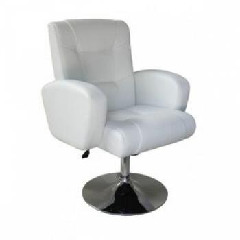 Парикмахерское кресло HC310N белое | Venko