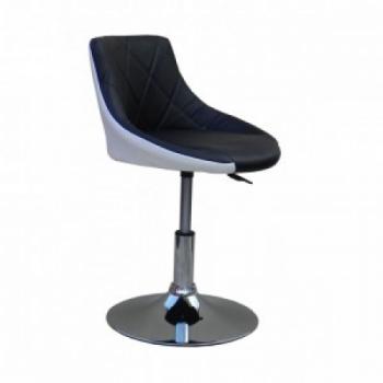 Косметическое кресло HC931N черно-белое | Venko