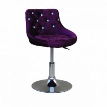 Косметическое кресло HC931N фиолетовый велюр | Venko