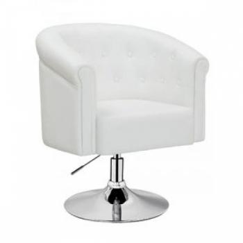 Парикмахерское кресло HC-300 белое | Venko
