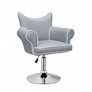 Парикмахерское кресло HC332 серое | Venko