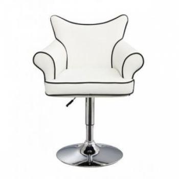 Парикмахерское кресло HC332 белое | Venko