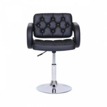 Кресло косметическое HC8403N черное | Venko