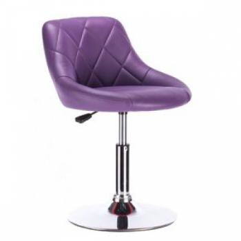 Кресло косметическое HC1054N фиолетовое | Venko