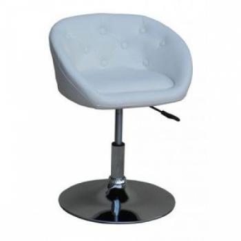 Крісло косметичне HC-302 біле | Venko