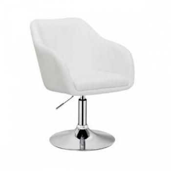 Парикмахерское кресло HC-1811 белое | Venko