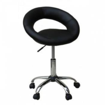 Косметическое кресло HC104K ЧЕРНОЕ | Venko