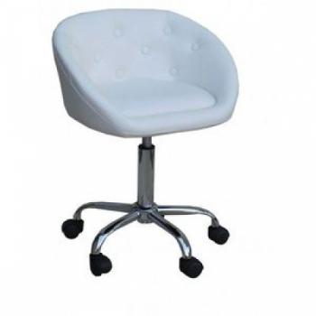 Косметическое кресло HC-302K белое   Venko