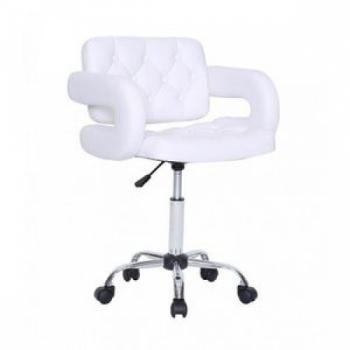 Косметическое кресло HC8403K белое | Venko