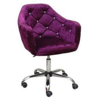 Косметическое кресло HC830K фиолетовое | Venko