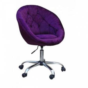 Косметическое кресло HC8516WK фиолетовое | Venko