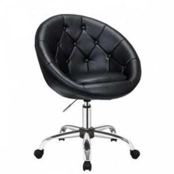 Косметическое кресло HC-8516K черное | Venko