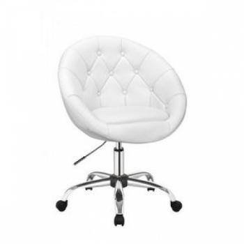 Косметическое кресло HC-8516K белое   Venko