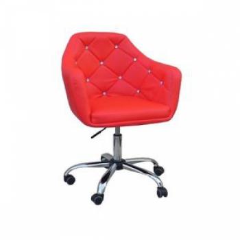 Косметическое кресло HC830K красный | Venko