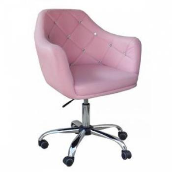 Косметическое кресло HC830K розовое | Venko