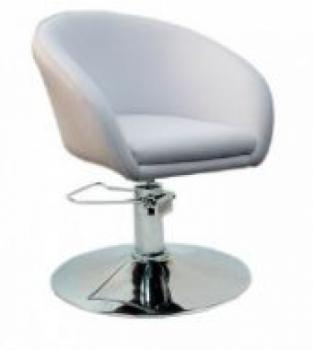 Кресло парикмахерское Мурат P (белый цвет) | Venko