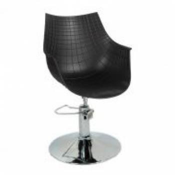 Кресло парикмахерское Кристаль P (черный цвет) | Venko