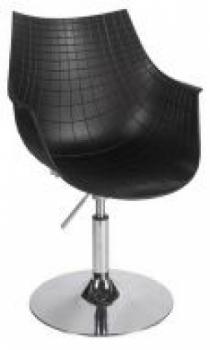 Кресло парикмахерское Кристаль В (цвет черный) | Venko