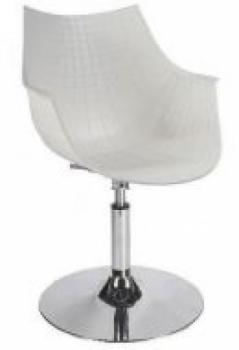 Кресло парикмахерское Кристаль В (цвет белый) | Venko