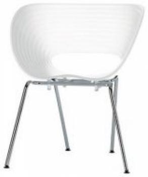 Стул для клиента Лейсур (цвет белый) | Venko