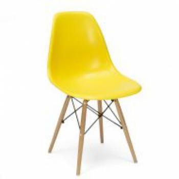 Стул для клиента Тауэр Вуд (цвет желтый) | Venko