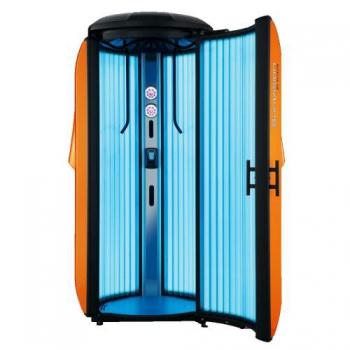 Вертикальный солярий Alisun SunVision V Compact FT CB orange | Venko