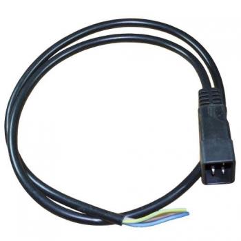 Вилка С20 1P16A 220V c кабелем 1100 мм | Venko