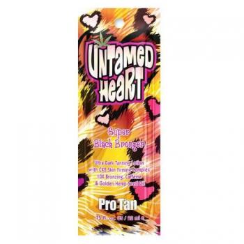 Лосьон с 10Х -кратными сбалансированными бронзантами Pro Tan Untamed Heart 22ml | Venko