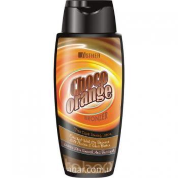 Интенсивный лосьон-бронзант для загара для смуглой кожи Asther Choco Orange Bronzer 200ml | Venko