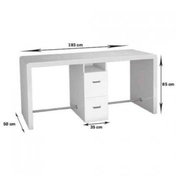 Двухместный маникюрный стол Reflection  Ayala | Venko