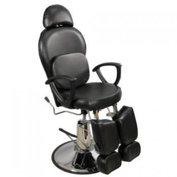 Педикюрное кресло на гидравлике S346А (шоколад)