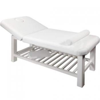 Массажный стол стационарный S877 (белый)