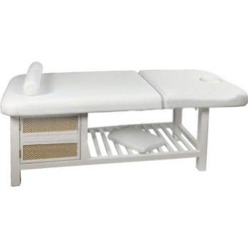 Массажный стол стационарный S877A (белый) | Venko
