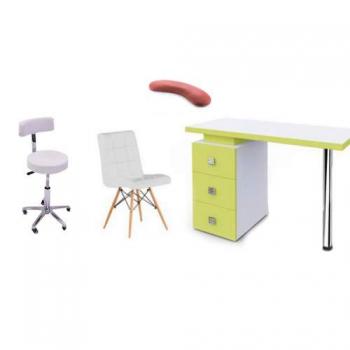 Рабочее место мастера маникюра Триумф  - комплект мебели | Venko