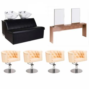 Рабочее место парикмахера Mali Quattro - комплект мебели | Venko