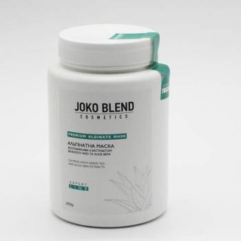 Альгинатная маска успокаивающая с экстрактом зеленого чая и алоэ вера Joko Blend, 200г | Venko