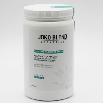 Альгинатная маска успокаивающая с экстрактом зеленого чая и алоэ вера Joko Blend, 600г | Venko