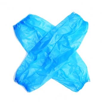 Нарукавники полиэтиленовые голубые, 100 шт